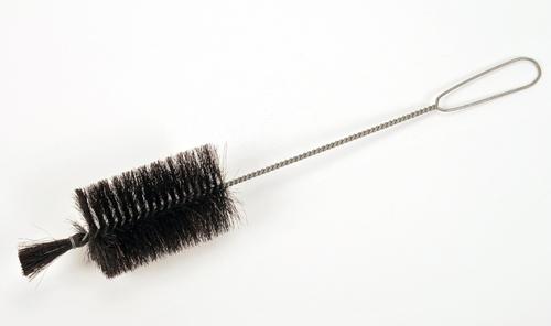 Rørbørster tvunnet på ståltråd - Fiber/tagl